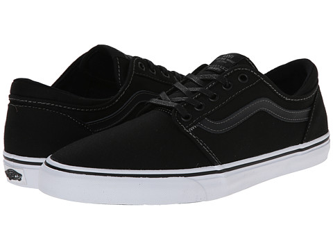 Vans - Trig (Black/True White) Men