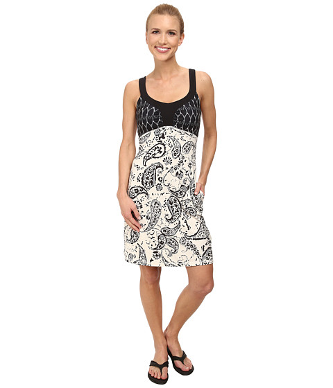 The North Face - Cadence Dress (Vintage White Print) Women