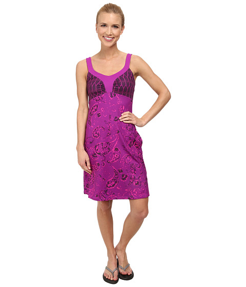 The North Face - Cadence Dress (Magic Magenta Print) Women's Dress