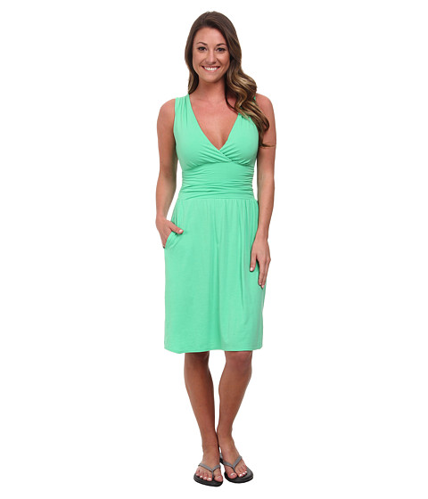 The North Face - Heartwood Dress (Surreal Green) Women