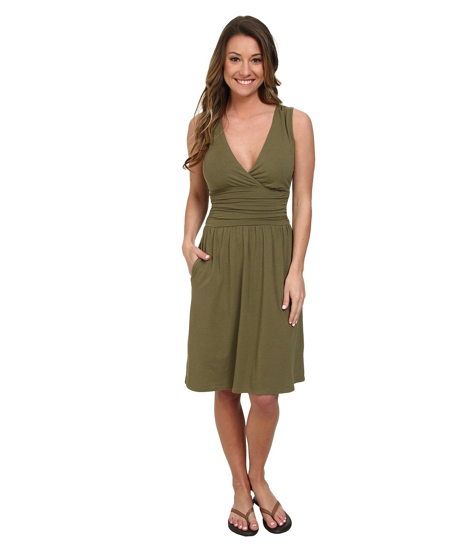 The North Face - Heartwood Dress (Burnt Olive Green) Women's Dress