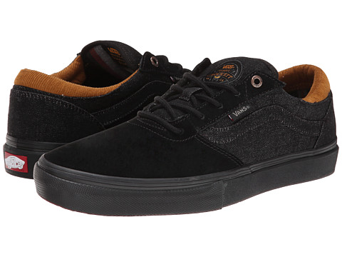 Vans - Gilbert Crockett Pro ((Denim) Black/Black) Men