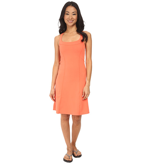 The North Face - Cypress Knit Dress (Emberglow Orange) Women