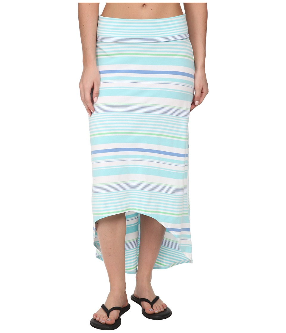 Columbia - Reel Beauty II Long Skirt (Candy Mint Variegated Stripe) Women's Skirt