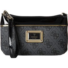 SALE! $27.99 - Save $12 on GUESS Reama SLG Wristlet (Coal) Bags and Luggage - 30.03% OFF $40.00