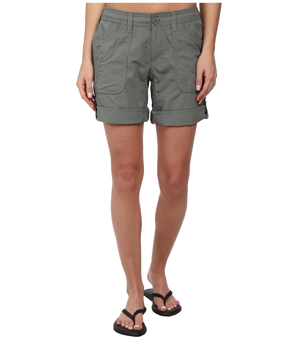 The North Face - Horizon II Roll-Up Short (Sedona Sage Grey) Women's Shorts