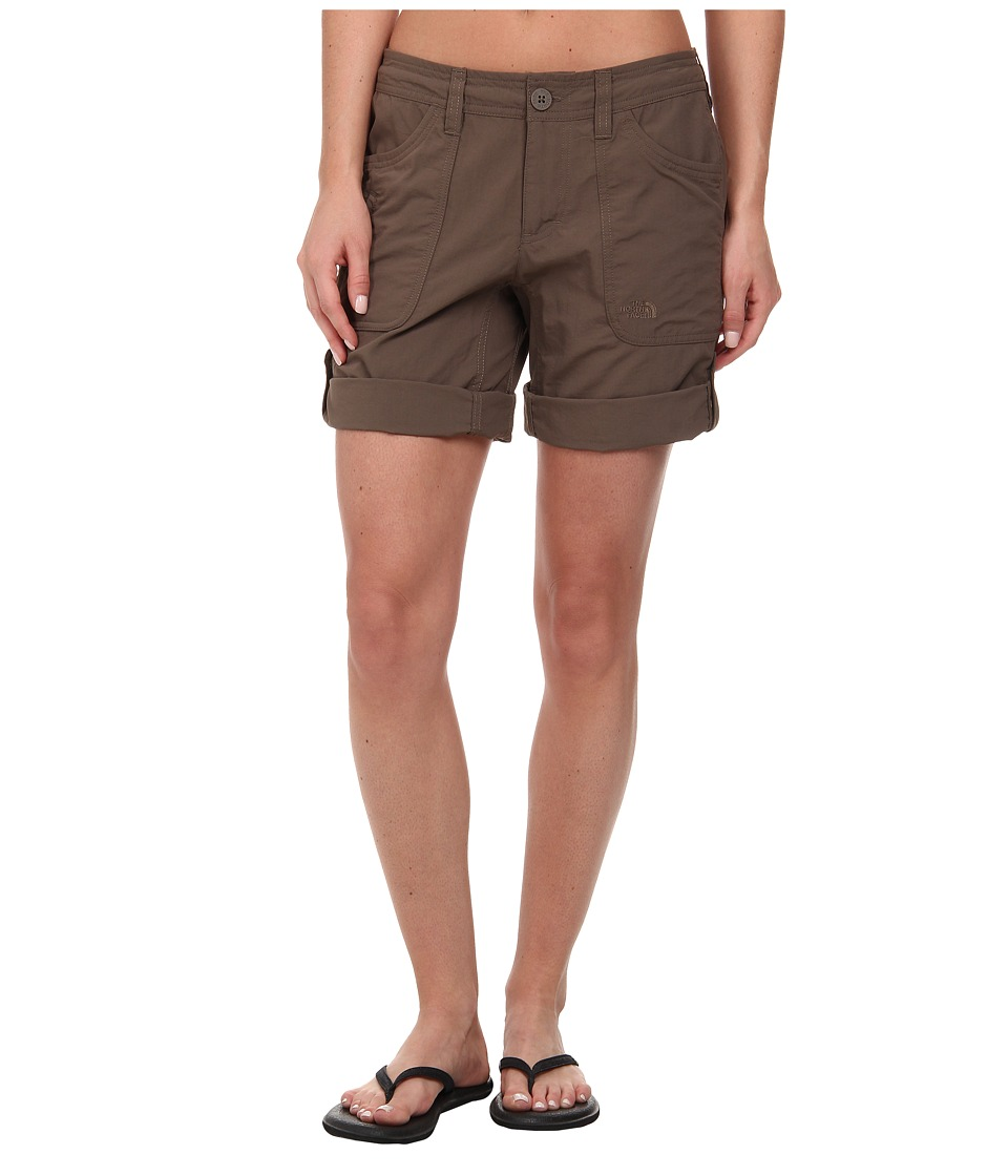 The North Face - Horizon II Roll-Up Short (Weimaraner Brown 2) Women's Shorts