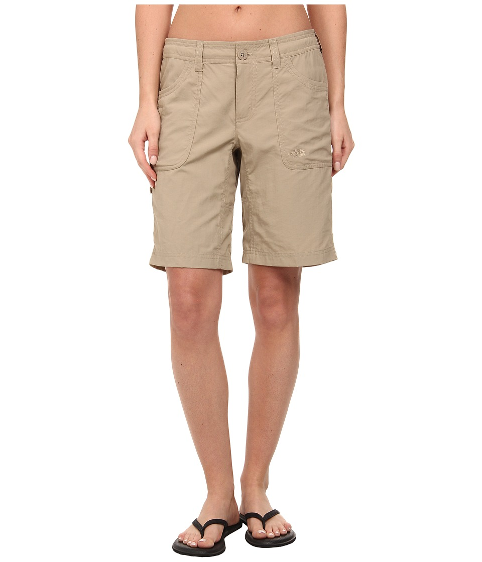 The North Face - Horizon II Roll-Up Short (Dune Beige 2) Women's Shorts