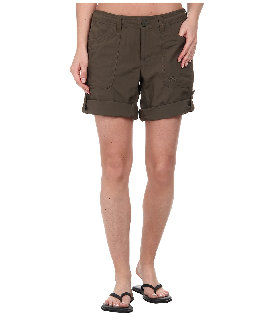 The North Face - Horizon II Roll-Up Short (New Taupe Green) Women's Shorts