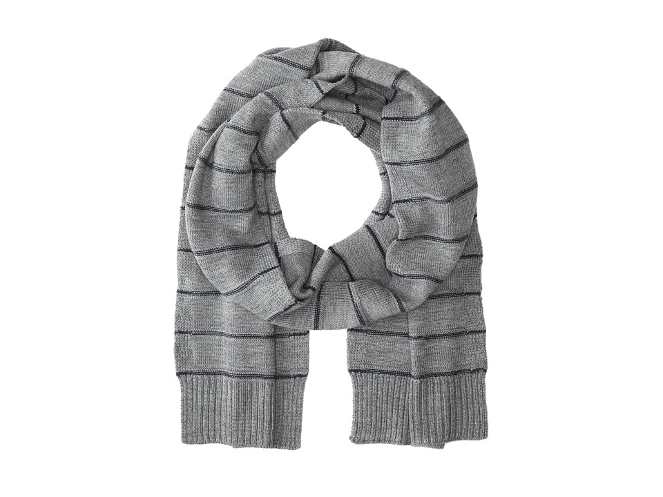 Culture Phit - Horizontal Stripe Merino Scarf (Flannel Combo) Scarves