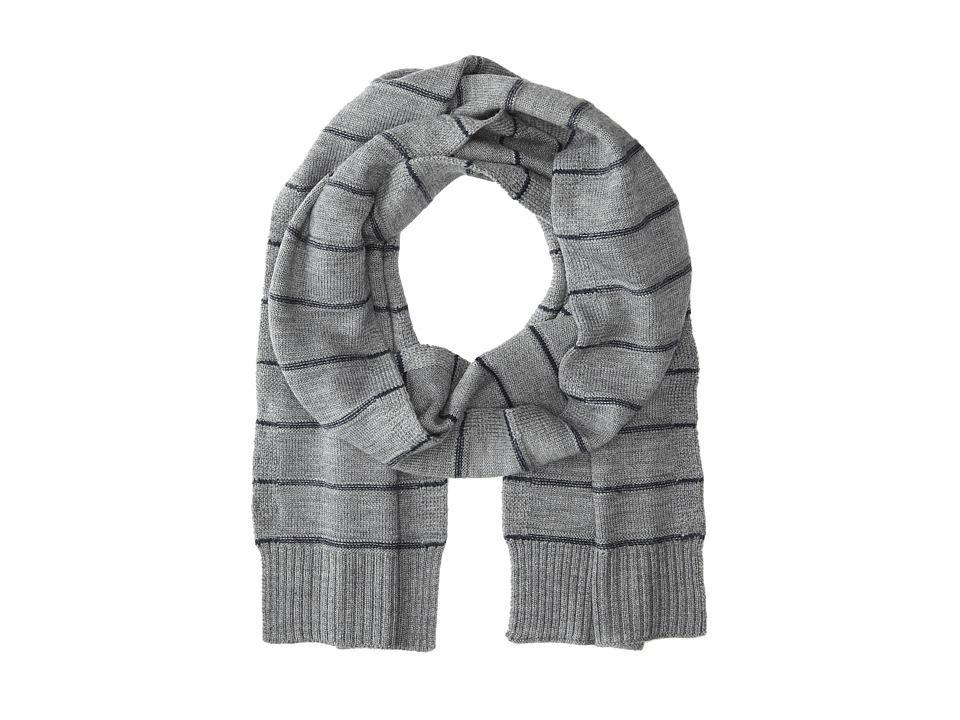 Culture Phit - Horizontal Stripe Merino Scarf (Flannel Combo) Scarves