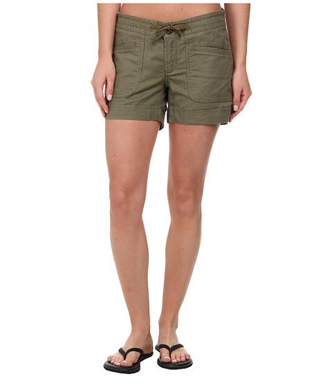 The North Face - Larisen Linen Short (Burnt Olive Green) Women's Shorts