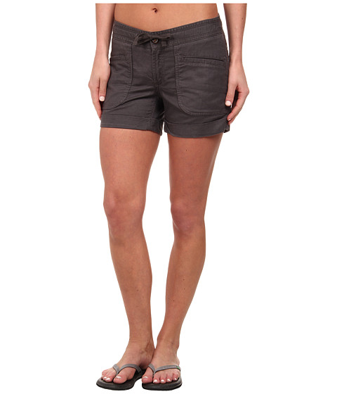 The North Face - Larisen Linen Short (Graphite Grey) Women