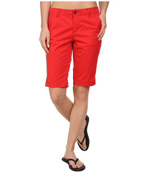 The North Face - Junewood Bermuda Short (Tomato Red) Women