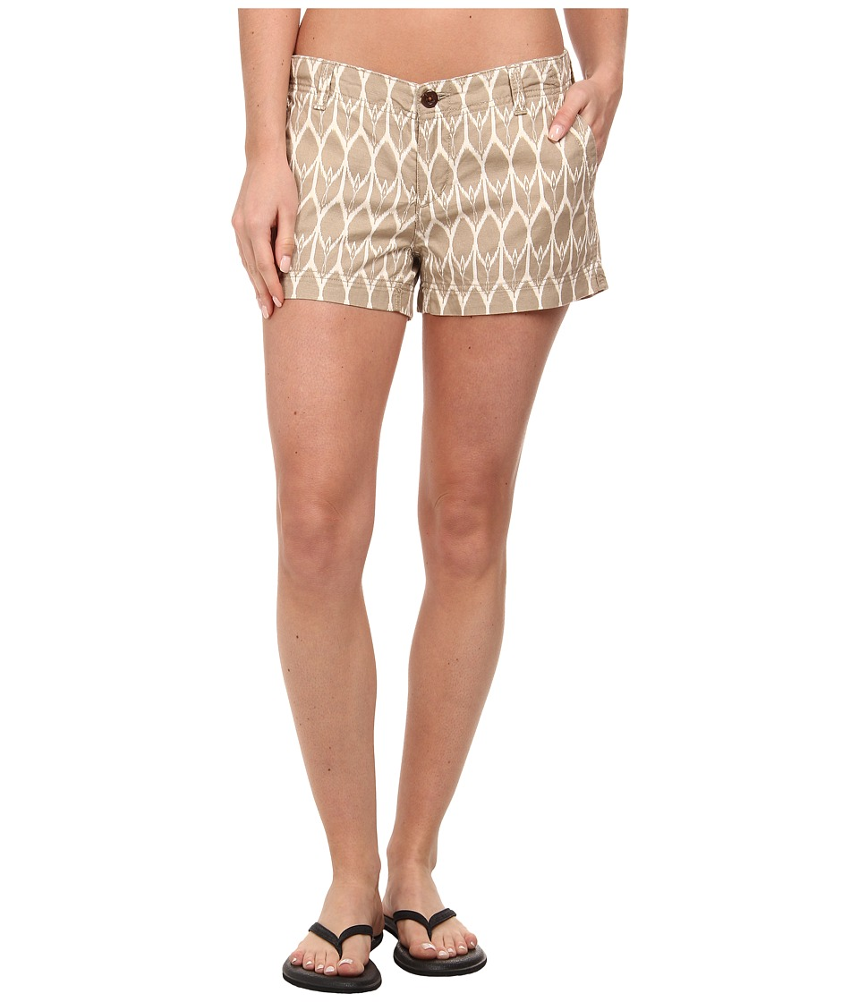 The North Face - Maywood Short (Dune Beige/Vintage White) Women's Shorts