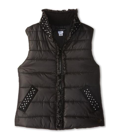 Kate Mack - Outerwear Essentials Vest Polyfill Studs ((Little Kids/Big Kids) (Black) Girl's Vest