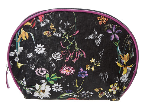 Kenneth Cole Reaction - 2 Piece Dome Set (Black Floral) Cosmetic Case