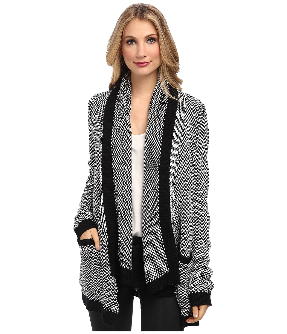 Brigitte Bailey - Meadowlark Cardigan (Black/Tan) Women