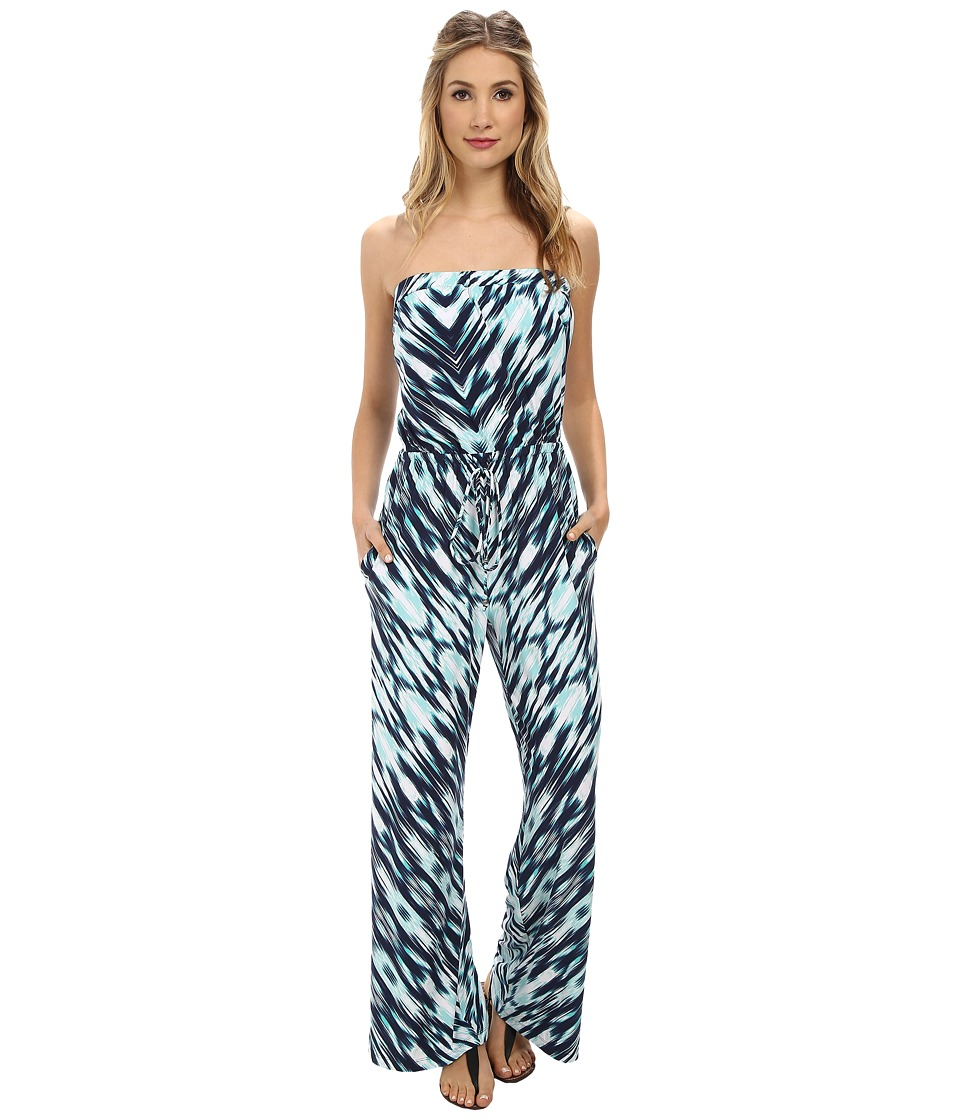 Tommy Bahama - Beach Wind Jumpsuit (Ocean Deep) Women's Jumpsuit & Rompers One Piece