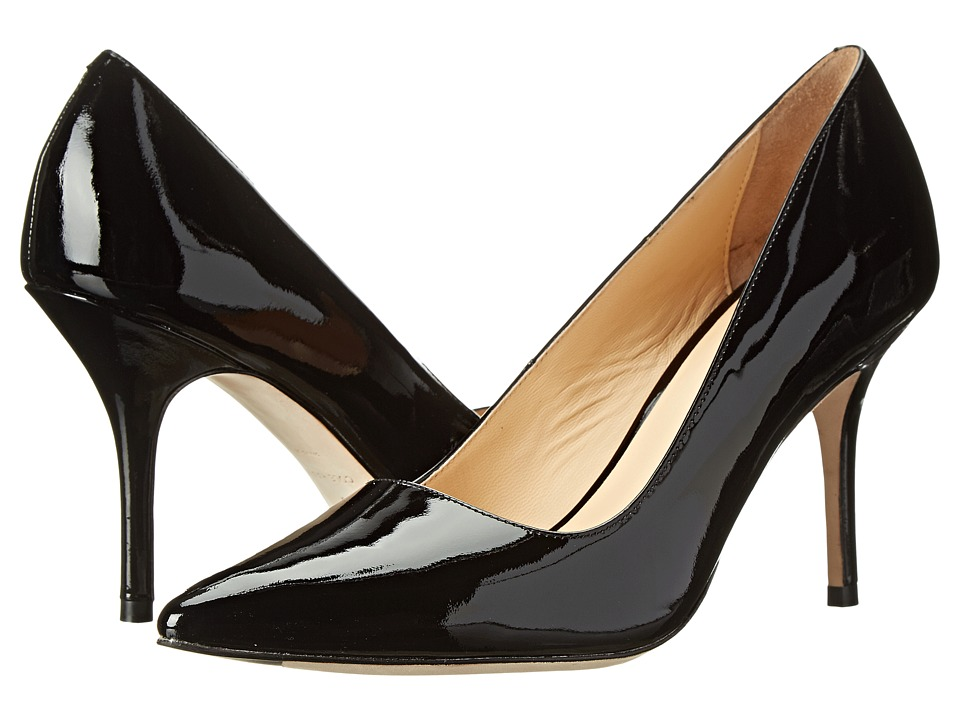 Cole Haan - Bradshaw Pump 85 (Black Patent) High Heels