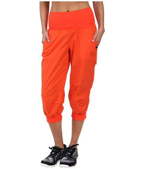 adidas Outdoor - Edo 3/4 Climb Pants (Semi Solar Red) Women