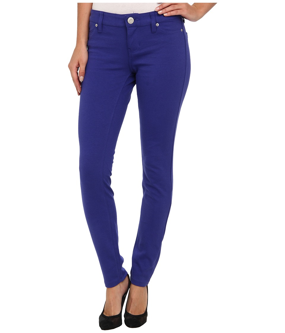 U.S. POLO ASSN. - Hyper Stretch Super Skinny Ponte Knit Pant (International Blue) Women's Casual Pants