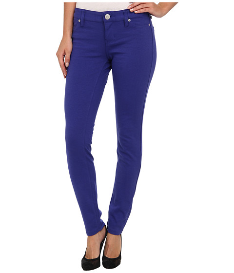U.S. POLO ASSN. - Hyper Stretch Super Skinny Ponte Knit Pant (International Blue) Women