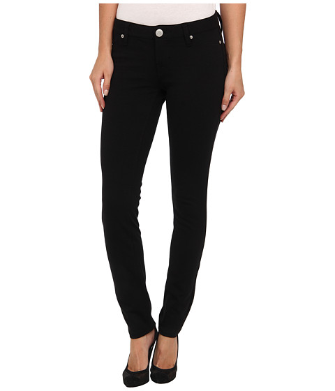 U.S. POLO ASSN. - Hyper Stretch Super Skinny Ponte Knit Pant (Black) Women's Casual Pants