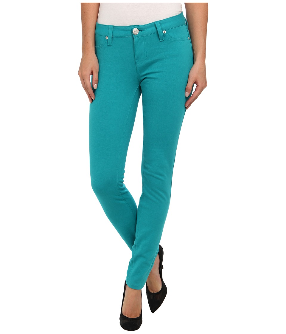 U.S. POLO ASSN. - Hyper Stretch Super Skinny Ponte Knit Pant (Turkis) Women's Casual Pants