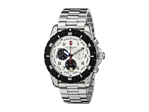 Victorinox - 241681 Maverick Sport 43mm (Silver) Watches
