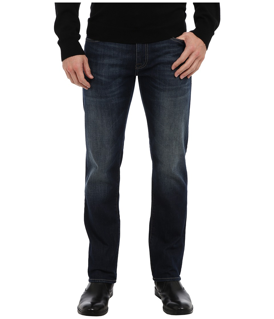 Mavi Jeans Zach Regular Rise Straight Leg in Dark Shaded Yaletown (Dark Shaded Yaletown) Men