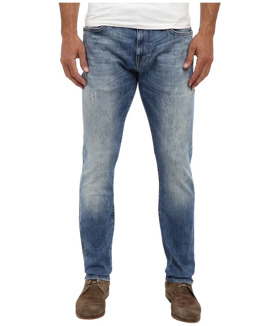 Mavi Jeans - Jake Regular Rise Slim Leg in Random Yaletown (Random Yaletown) Men