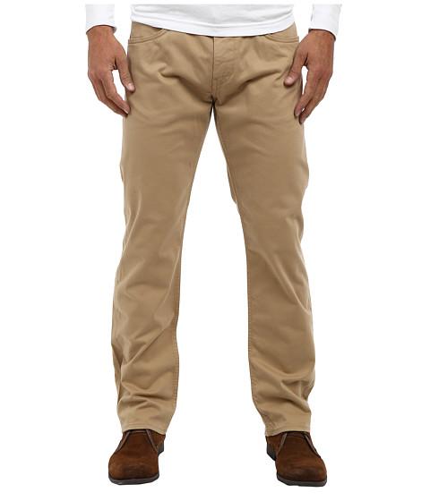 Mavi Jeans - Zach Regular Rise Straight Leg in Tan Twill (Tan Twill) Men