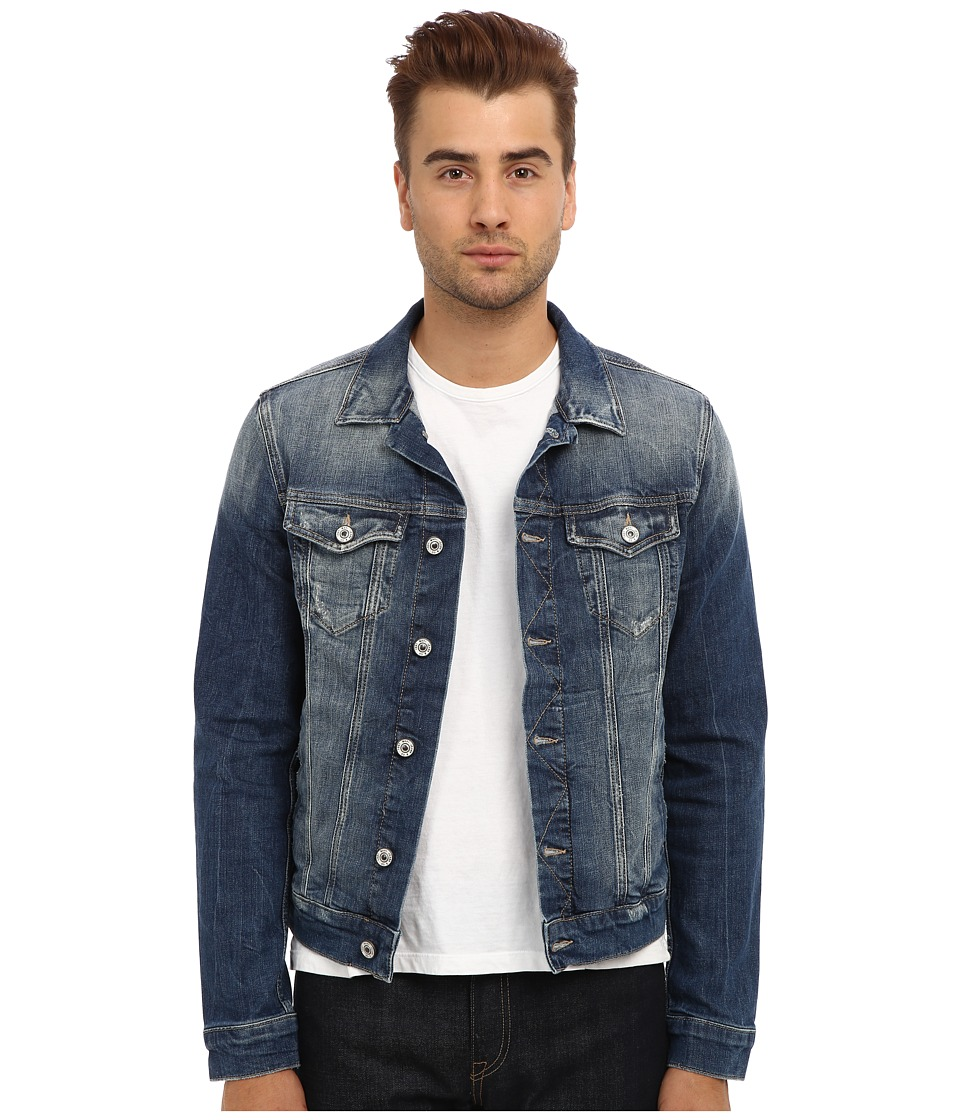 Mavi Jeans - Frank Denim Jacket in Light Used Comfort (Light Used Comfort) Men's Coat