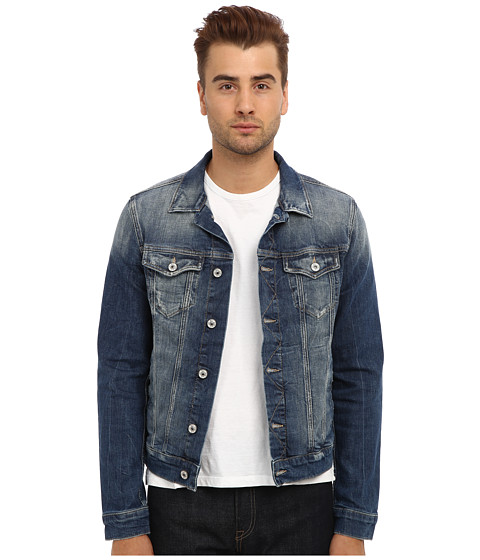 Mavi Jeans - Frank Denim Jacket in Light Used Comfort (Light Used Comfort) Men
