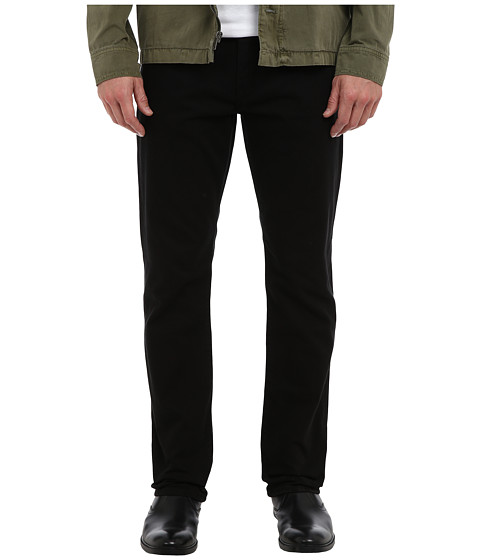 Mavi Jeans - Myles Mid-Rise Straight Leg in Black Yaletown (Black Yaletown) Men