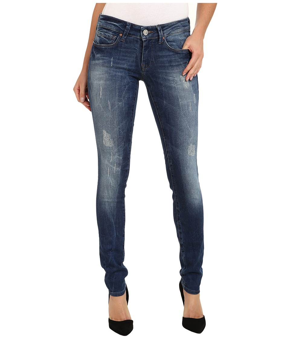 Mavi Jeans - Serena Lowrise Super Skinny in Used R-Vintage (Used R-Vintage) Women's Jeans plus size,  plus size fashion plus size appare