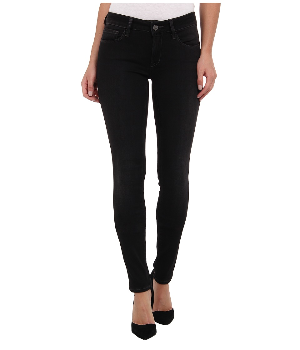Mavi Jeans - Adriana Midrise Super Skinny in Dark Grey Jegging (Dark Grey Jegging) Women