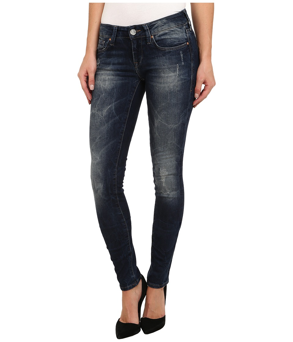 Mavi Jeans - Serena Lowrise Super Skinny in Dark Used Nolita (Dark Used Nolita) Women's Jeans