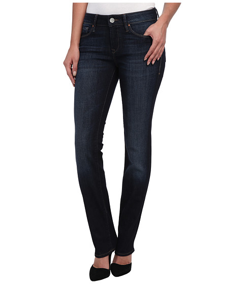 Mavi Jeans - Kerry Midrise Straightleg in Deep Brushed Vintage (Deep Brushed Vintage) Women