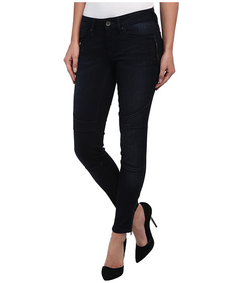 Mavi Jeans - Darcy Lowrise Skinny Biker Ankle in Dark (Dark) Women