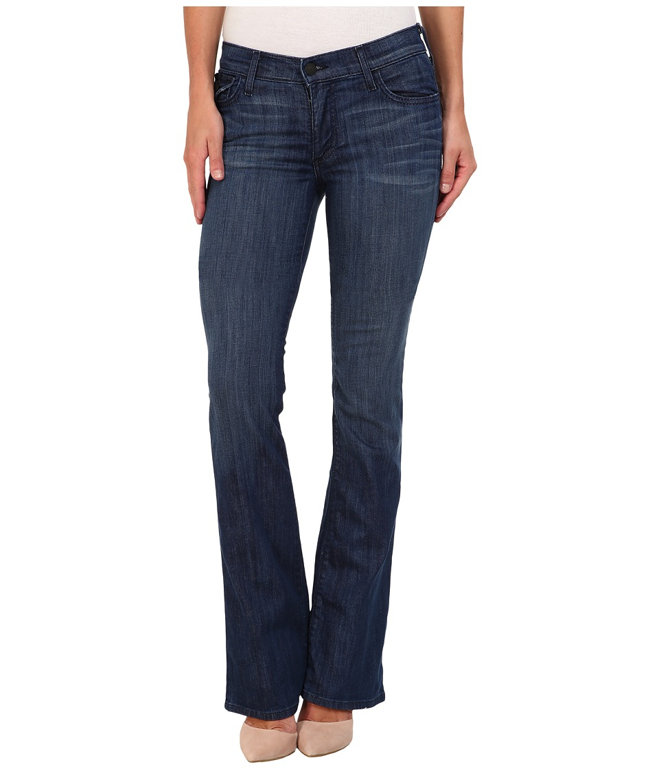 True Religion - Becca Mid-Rise Bootcut w/ Flaps in Faithful Message (Faithful Message) Women