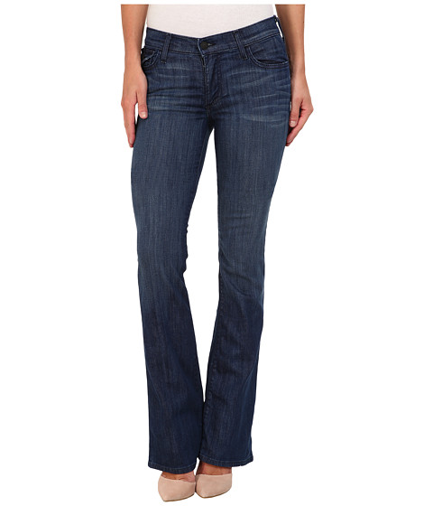 True Religion - Becca Mid-Rise Bootcut w/ Flaps in Faithful Message (Faithful Message) Women's Jeans