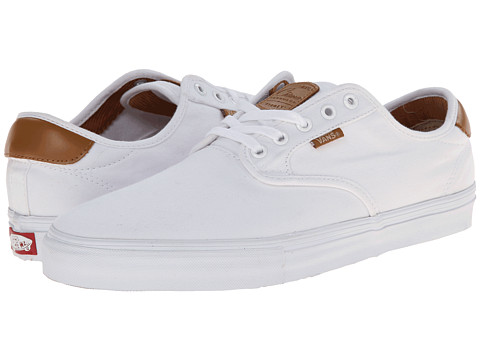 Vans - Chima Pro (White/White) Men's Skate Shoes