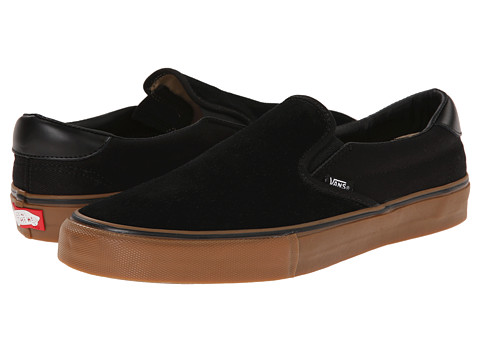 Vans - Slip-On Pro ((Anti Hero) Black/Allen) Men's Skate Shoes