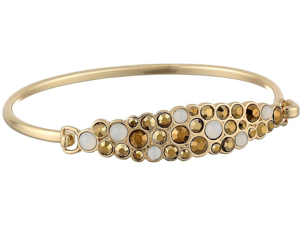Jessica Simpson - 601919 (White Moonstone/Dorado) Bracelet