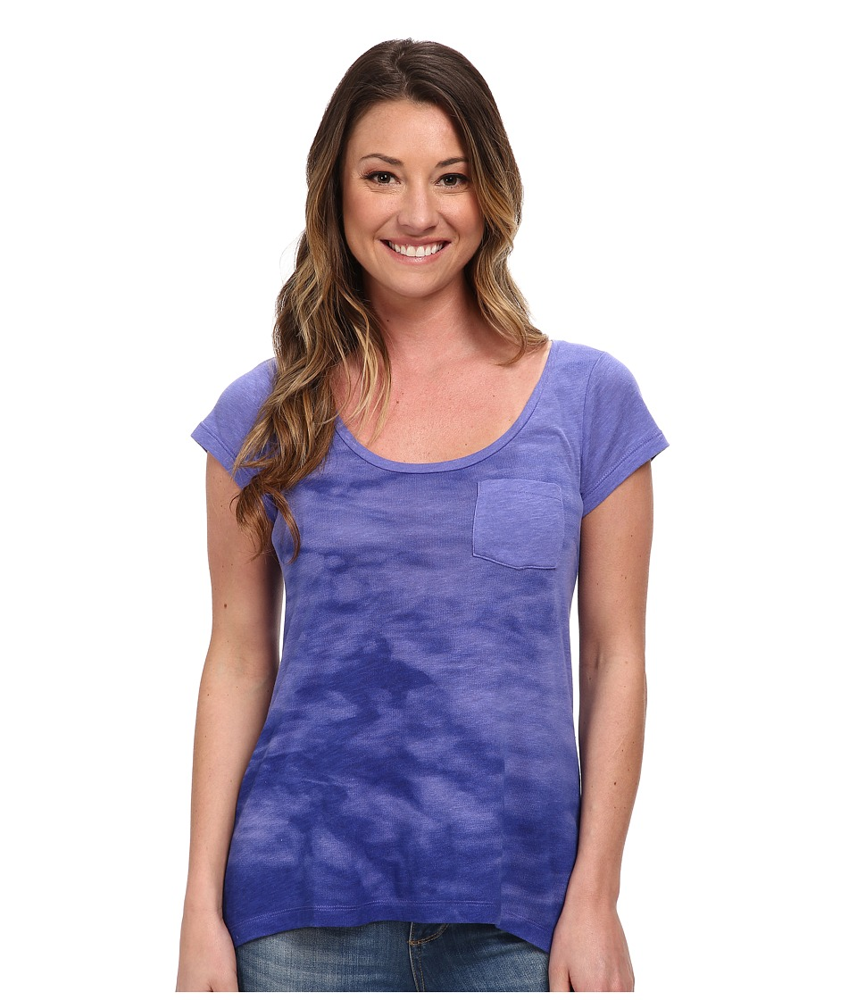 Columbia - Waves Pocket Tee (Purple Lotus) Women