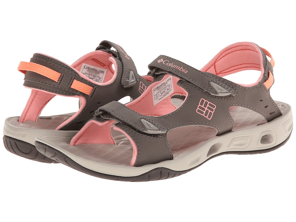 Columbia - Sunbreeze Vent (Mud/Sorbet) Women's Shoes