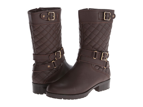 Anne Klein - Callforth (Pony Brown Leather) Women's Pull-on Boots