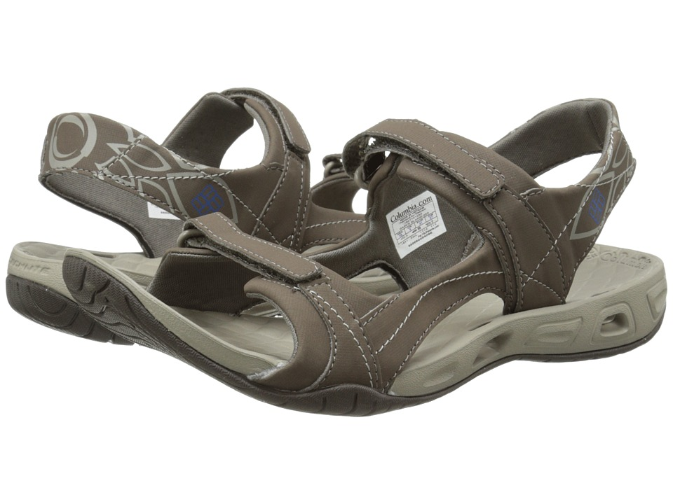 Columbia - Sunlight Vent II (Mud/Atmosphere) Women's Shoes